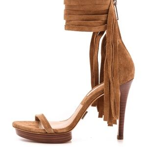 Michael Kors Collection Fringe Heel